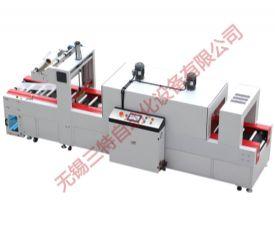 全自动袖口式焊丝圆型封切收缩包装机